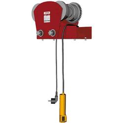 Сорокин 4.614 электрокаретка для электротельфера 1т Сорокин Тали, тельферы Грузоподъемное