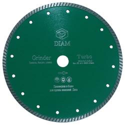 DIAM Turbo Grinder 000459 алмазный круг для гранита 125*2,0*10*М14 с фланцем Diam По граниту Алмазные диски