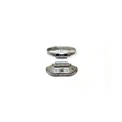 25гр Груз балансировочный Pb стандарт, коробка 100шт Автобаланс Грузики балансировочные Расходные материалы