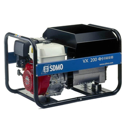 SDMO VX 200/4 H-C Генератор сварочный бензиновый SDMO Бензиновые Сварочные генераторы